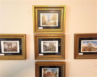 The 5 the small framed famous landmarks from world travels