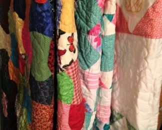 Quilt selections