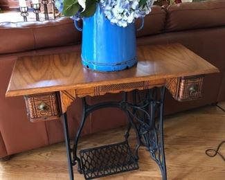 Singer treadle sewing machine table (table only - no machine) $80