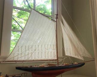 Large model sailboat