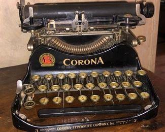 Small antique Corona typewriter