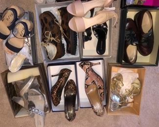 Women's shoes size 8 and 8-1/2