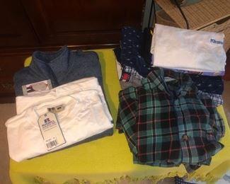Men's clothing.....