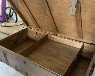 Crate and barrel chest