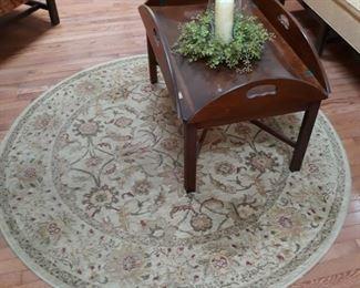 """Round rug 65"""" diameter"""