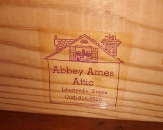 Abbey Ames Attic collectibles