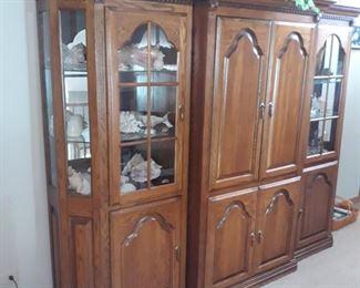Three piece storage cabinet  , entertainment  armoire