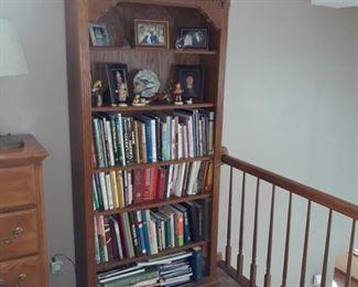 Books and book shelf