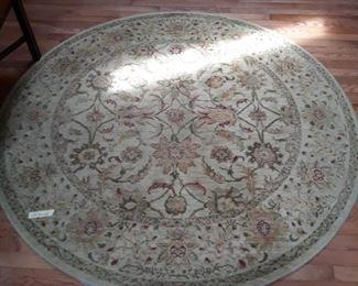 65 inch diameter  round rug