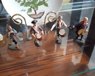 Elastolin vintage toy figurines