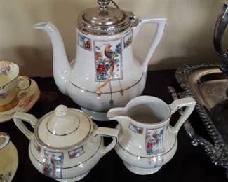 Coffee  service , porcelain.