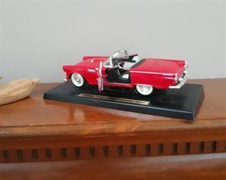 Collectibles  Thunderbird  convertible