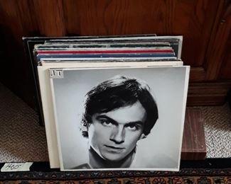 A few LP records