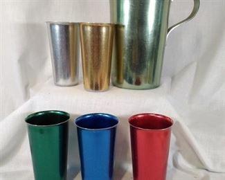 Italy Aluminum Drinkware