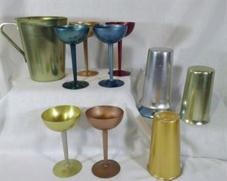 mixed brands of aluminum drinkware