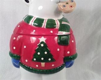 Coco Dowley Polar Bear Cookie Jar