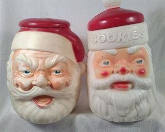 Vintage 1973 Plastic Cookie Jars
