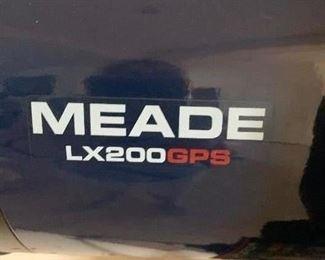 Lot 2-Meade LX200 GPS