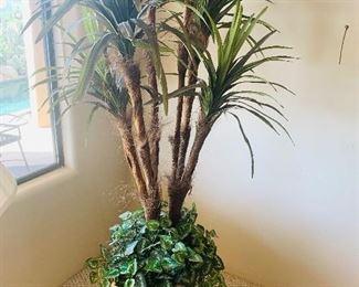 Nice faux tree/planter