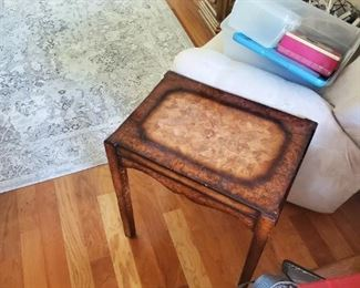 wooden accent tables