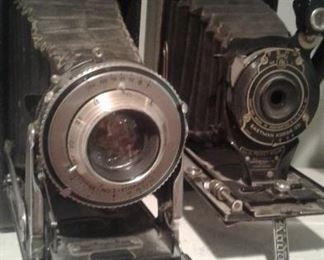 Antique cameras-MANY!