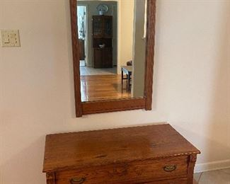 Picture 2 of chest (mirror shown as well)
