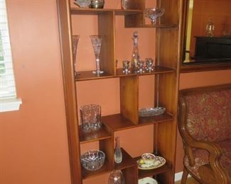 Mid Century Modern Etagere Wall Unit
