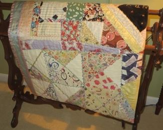 75% off now $35 was $125 Antique Patchwork hand-made Quilt