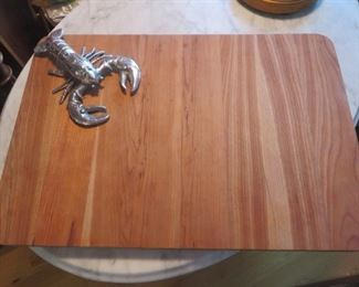 $50% off now %10 was $20 Lobster Cutting Board