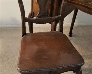 Antique chair.