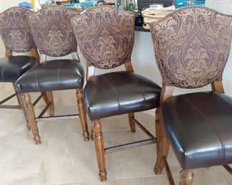 """4  Barstools that match the Dining Set 24"""" Seat Heigth"""