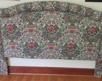 fabric bed head board