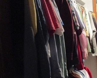 men's clothes size large, long great name brands
