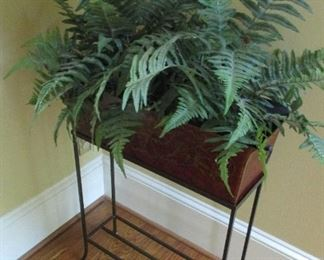 rectangle planter and stand