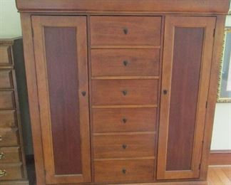 tall chest, lots of storage