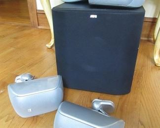 Bowers and Wilkens  sub woofer surround sound A5 W 675
