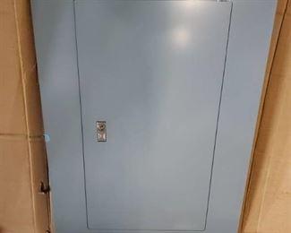 Grey Panel Box Cover. No Key
