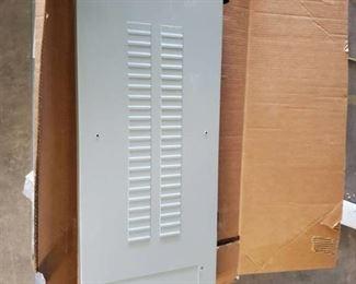 Grey Panel Box with Guts