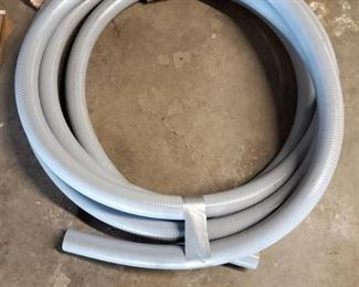 Grey Rubber Coated Commercial Hose
