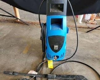 Pacific Hydrostar Blue Power Washer on Wheels
