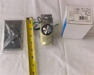 Leviton 6616 Fan Speed Controller Black 5a 120v