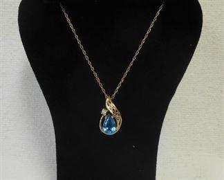 14 k Necklace