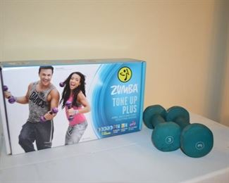 Zumba Tone Up Plus sculpting system