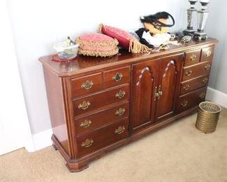 Matching cherry dresser