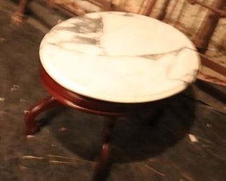 Marble top vintage table