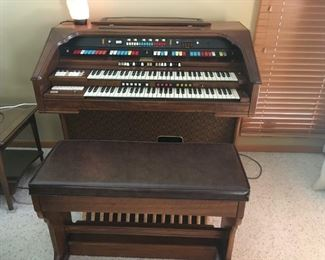Great organ/bench -- One of a kind!