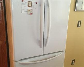 . . . a nice side-by-side fridge