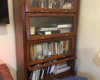 . . . another view of the same bookcase