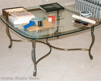 Glasstop Coffee Table