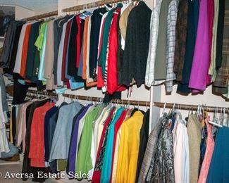 CLOSET FULL of Designer Clothing